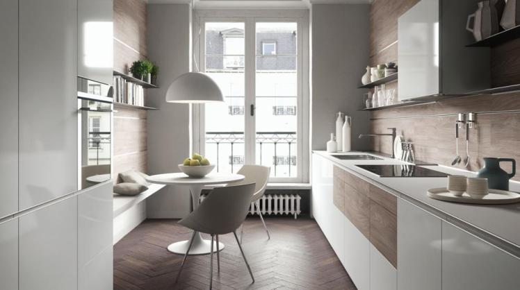 Come scegliere la forma corretta della tua cucina (articolo con foto ...