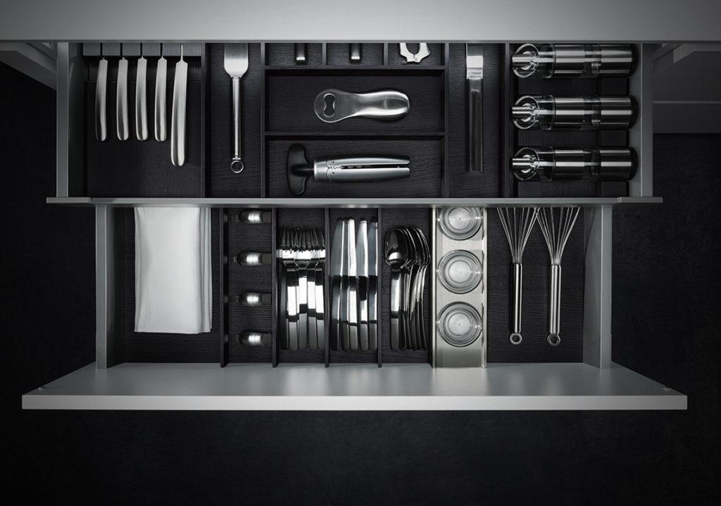 Attrezzatura interna Riviera Helle kitchen Cucine