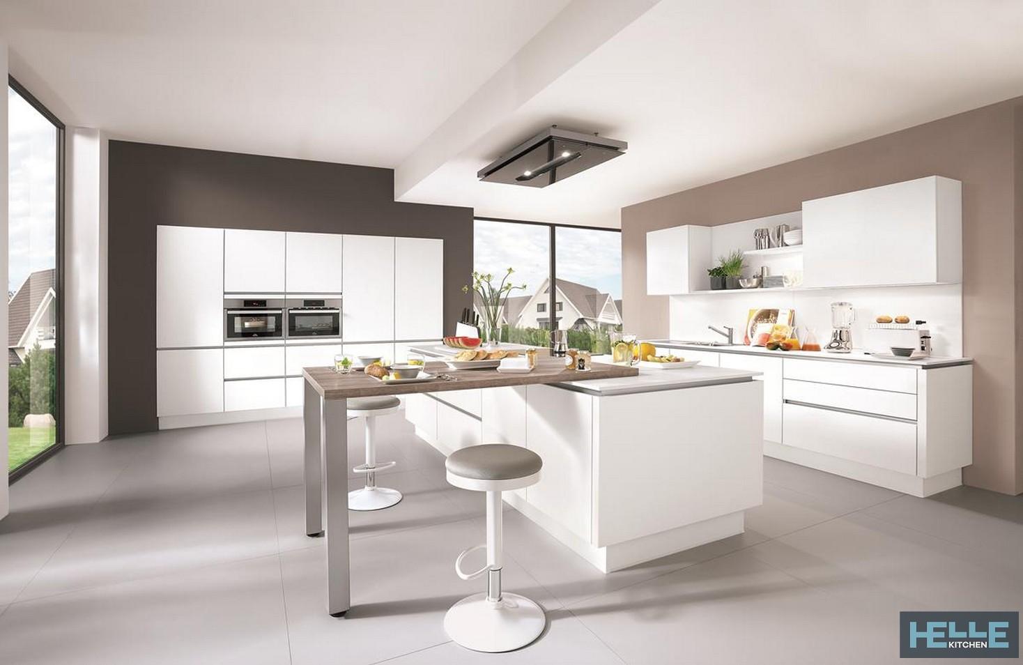 Unico Ambiente Cucina Soggiorno cucina helle linen white411 | helle kitchen
